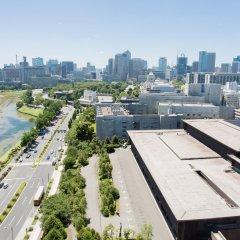 Отель Grand Arc Hanzomon Япония, Токио - отзывы, цены и фото номеров - забронировать отель Grand Arc Hanzomon онлайн балкон