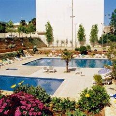 Отель Apartamentos Turisticos Jardins Da Rocha спортивное сооружение