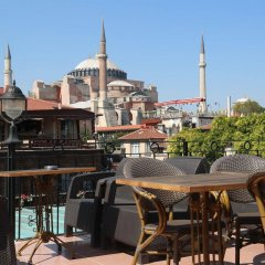 Orient Hostel Стамбул балкон