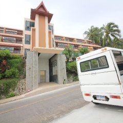 Отель Novotel Phuket Resort парковка