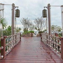 Отель Movenpick Siam Pattaya На Чом Тхиан приотельная территория фото 2