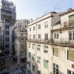 Отель Santa Justa Suite by Homing Португалия, Лиссабон - отзывы, цены и фото номеров - забронировать отель Santa Justa Suite by Homing онлайн балкон