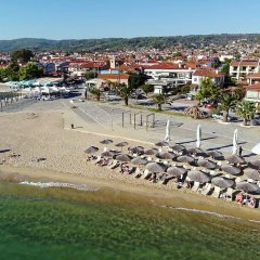 Отель Finikas Garden Beach Resort Nikiti пляж фото 2