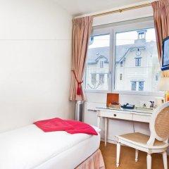 Отель Hôtel des Horlogers Швейцария, План-лез-Уат - 1 отзыв об отеле, цены и фото номеров - забронировать отель Hôtel des Horlogers онлайн комната для гостей фото 3