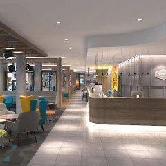 Отель Hampton by Hilton Belfast City Centre интерьер отеля