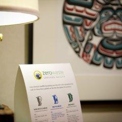 Отель The Listel Hotel Vancouver Канада, Ванкувер - отзывы, цены и фото номеров - забронировать отель The Listel Hotel Vancouver онлайн удобства в номере
