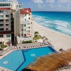 Отель BSEA Cancun Plaza Hotel Мексика, Канкун - отзывы, цены и фото номеров - забронировать отель BSEA Cancun Plaza Hotel онлайн пляж фото 2