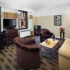 The New Yorker A Wyndham Hotel 2* Люкс с двуспальной кроватью фото 7