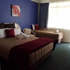 Отель Alstonville Settlers Motel сейф в номере