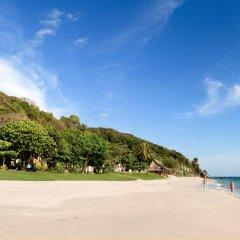 Курортный отель Amantra Resort & Spa пляж