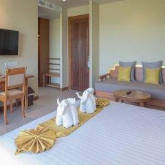 Отель Maikhao Palm Beach Resort комната для гостей фото 2