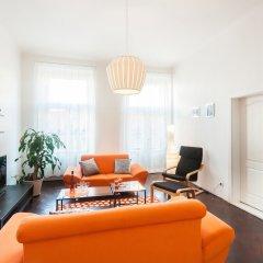 Отель Ostrovni Apartment Чехия, Прага - отзывы, цены и фото номеров - забронировать отель Ostrovni Apartment онлайн комната для гостей фото 4