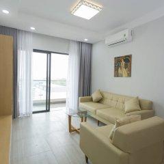 Апартаменты The Everrich Infinity Apartment комната для гостей фото 4