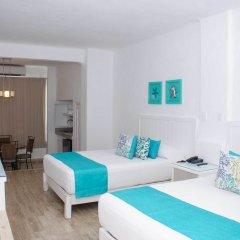 Отель BSEA Cancun Plaza Hotel Мексика, Канкун - отзывы, цены и фото номеров - забронировать отель BSEA Cancun Plaza Hotel онлайн комната для гостей фото 4