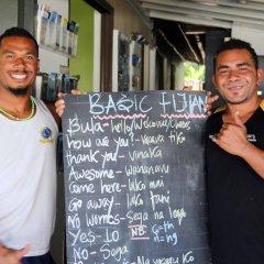 Отель Bamboo Backpackers Фиджи, Вити-Леву - отзывы, цены и фото номеров - забронировать отель Bamboo Backpackers онлайн интерьер отеля фото 2