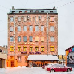Отель Голден Пэлас Санкт-Петербург вид на фасад