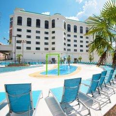 Отель Margaritaville Hotel Vicksburg США, Виксбург - отзывы, цены и фото номеров - забронировать отель Margaritaville Hotel Vicksburg онлайн бассейн