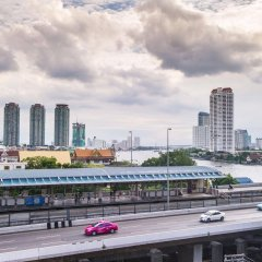 Отель Glur Bangkok балкон