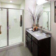 Отель Global Luxury Suites at Woodmont Triangle North США, Бетесда - отзывы, цены и фото номеров - забронировать отель Global Luxury Suites at Woodmont Triangle North онлайн ванная