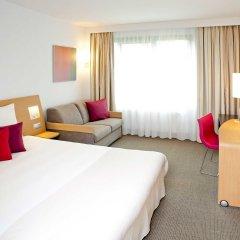 Отель Novotel Wroclaw City 3* Стандартный номер с разными типами кроватей фото 2