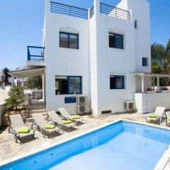 Отель Villa Saint Nikolas Кипр, Протарас - отзывы, цены и фото номеров - забронировать отель Villa Saint Nikolas онлайн бассейн фото 3