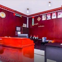 OYO 168 Al Raha Hotel Apartments интерьер отеля