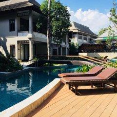 Отель Chaweng Garden Beach Resort Таиланд, Самуи - 1 отзыв об отеле, цены и фото номеров - забронировать отель Chaweng Garden Beach Resort онлайн бассейн