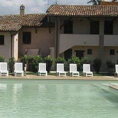 Отель Casa Vacanze Nonna Vittoria Сполето бассейн фото 2
