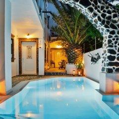 Отель Galatia Villas Греция, Остров Санторини - отзывы, цены и фото номеров - забронировать отель Galatia Villas онлайн бассейн фото 2