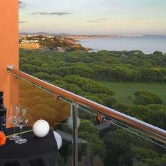 Отель Aqua Pedra Dos Bicos Design Beach Hotel - Только для взрослых Португалия, Албуфейра - отзывы, цены и фото номеров - забронировать отель Aqua Pedra Dos Bicos Design Beach Hotel - Только для взрослых онлайн балкон