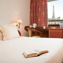 Отель Mercure Tour Eiffel Grenelle 4* Улучшенный номер с различными типами кроватей фото 2