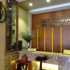Bee Saigon Hotel интерьер отеля