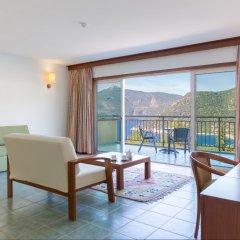 Happy Hotel Kalkan Турция, Калкан - отзывы, цены и фото номеров - забронировать отель Happy Hotel Kalkan онлайн комната для гостей фото 2