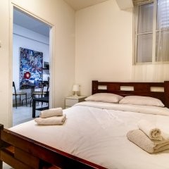 Central Apartment next to Dizengoff St. Израиль, Тель-Авив - отзывы, цены и фото номеров - забронировать отель Central Apartment next to Dizengoff St. онлайн комната для гостей фото 5