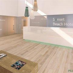 Отель HSM Sándalo Beach фитнесс-зал