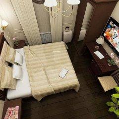 Гостиница Мегаполис комната для гостей фото 18