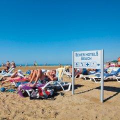 Seher Sun Beach Турция, Сиде - отзывы, цены и фото номеров - забронировать отель Seher Sun Beach - All Inclusive онлайн пляж