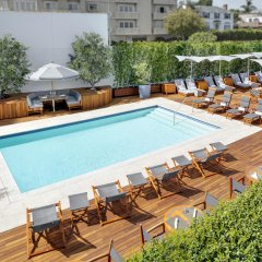 Отель Mr. C Beverly Hills бассейн фото 2