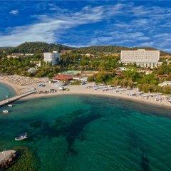 Отель Athos Palace пляж