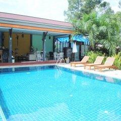 Отель Baan Rom Mai Resort Самуи бассейн