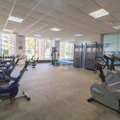Отель Ibersol Spa Aqquaria фитнесс-зал фото 2