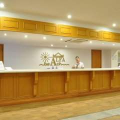 Alfa Beach Hotel интерьер отеля