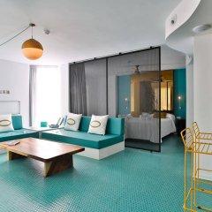 Отель Dorado Ibiza Suites - Adults Only Испания, Сант Джордин де Сес Салинес - отзывы, цены и фото номеров - забронировать отель Dorado Ibiza Suites - Adults Only онлайн комната для гостей фото 2