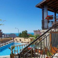 Отель Family Hotel Milev Болгария, Свети Влас - отзывы, цены и фото номеров - забронировать отель Family Hotel Milev онлайн балкон