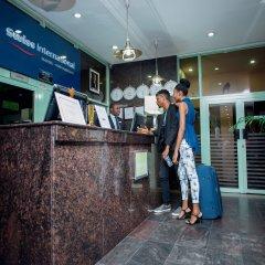 Отель Swiss International Mabisel Port Harcourt Нигерия, Порт-Харкорт - отзывы, цены и фото номеров - забронировать отель Swiss International Mabisel Port Harcourt онлайн интерьер отеля фото 2