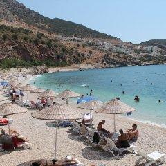 Lizo Hotel Турция, Калкан - отзывы, цены и фото номеров - забронировать отель Lizo Hotel онлайн пляж фото 2