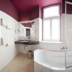 Отель Der Wilhelmshof Австрия, Вена - 7 отзывов об отеле, цены и фото номеров - забронировать отель Der Wilhelmshof онлайн ванная