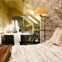 Отель Apvalaus Stalo Klubas Литва, Тракай - отзывы, цены и фото номеров - забронировать отель Apvalaus Stalo Klubas онлайн ванная