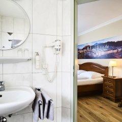 Отель Das Grüne Hotel zur Post - 100 % BIO Австрия, Зальцбург - отзывы, цены и фото номеров - забронировать отель Das Grüne Hotel zur Post - 100 % BIO онлайн ванная