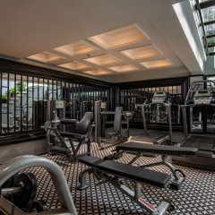 Acoustic Hotel & Spa фитнесс-зал